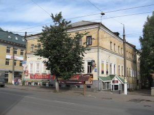 здание почтовой конторы